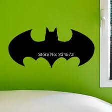 online get cheap children batman sticker aliexpress com alibaba batman silhouette children kids wall art sticker decal diy home decoration decor wall mural removable room