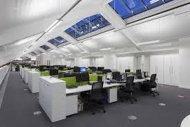 open office lighting design hoare lea lighting office london uk retail design blog