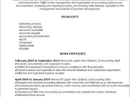 Example Accounting Resume by Create My Resume Best Account Payable Resume Sample Collections