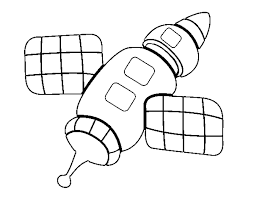 coloring page space station color online coloringcrew 701593