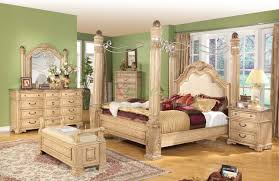Bedroom Furniture Canopy Bed Poster Bedroom Sets