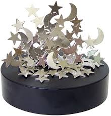 amazon com magnetic star and moon sculpture by rockymart toys