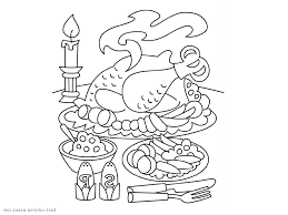 thanksgiving dinner table clipart black and white clipartxtras