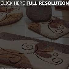 Brown Bathroom Rugs Bathroom Rugs Sets Best Bathroom Design