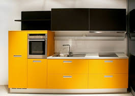 yellow kitchen cabinet kitchen cabinets modern two yellow black modern yellow color