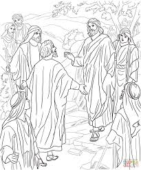 peter u0027s confession of christ coloring page free printable