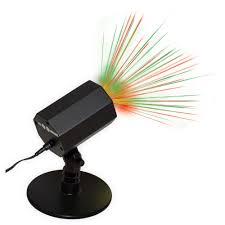 time outdoor laser motion light green