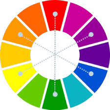 grey complimentary colors how to use the color wheel to create colorful presentations part ii