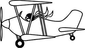 pilot plane coloring page disney planes pages free printable jet