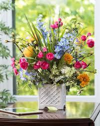 silk floral arrangements larkspur ranunculus silk flower arrangement only at