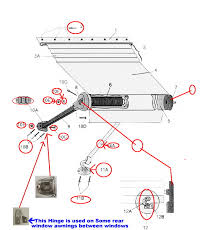 Dometic Awning Parts 8500 Zip Dee Patio Parts Page