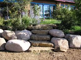 garden rocks ideas beautiful landscape boulders new home design