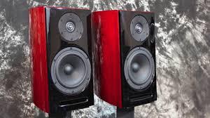 Bookshelf Speaker Design Stereo Design Aerial Acoustics Model 5t Bookshelf Speakers 2016