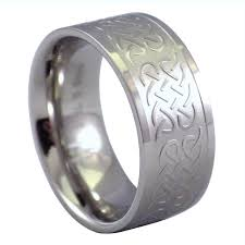hypoallergenic metals for rings celtic knot ring surgical stainless steel band