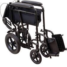 Drive Wheel Chair Amazon Com Probasics Transport Chair Wheelchair Aluminum 19