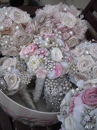 silk flower bouquets diy brooch bouquet evaline s bridal