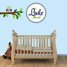 Owl Wall Decals Nursery by Owl Wall Decals For Boy Nursery Color The Walls Of Your House
