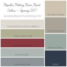 popular wall colors 2017 popular pottery barn paint colors favorite paint colors