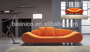 Orange Sofa Bed by Country Fashion Style 3 Seater Sofa Bed Day Bed Pouffe Settee