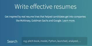 resume worded write effective resumes