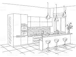 Kitchen Design Sketch Kitchen Window Clip Art Vector Images U0026 Illustrations Istock