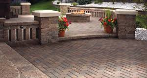 Backyard Patio Stones Brick Pavers Paver Patios In Cincinnati Ohio Schneider U0027s