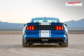 tuned mustang 50th anniversary 750hp shelby super snake mustang street machine