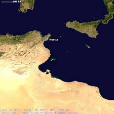 map of tunisia with cities korba tunisia general tunisia geography population map cities