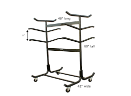 freestanding sup and kayak rack customizable storage with wheels