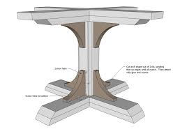 Unfinished Pedestal Table Table Mesmerizing Unfinished Wood Pedestal Table Base Bobreuterstl