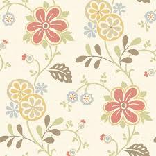 Modern Floral Wallpaper Brewster Cameo Rose Iv Red Swag Trail Wallpaper Sample 979