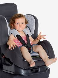 protege ceinture siege auto bébé protège harnais vertbaudet gris vertbaudet