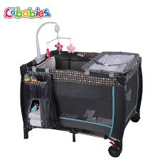 Portable Changing Tables New Portable Baby Crib Multi Functional Folding With Diapers