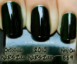 nars vintage nail polish collection 2010 swatches review