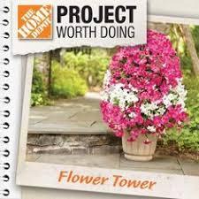 Home Depot Flower Projects - diy flower tower part 1 digin heartoutdoors spring sponsored