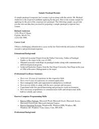 resume wording exles sle paralegal resume resumes exles objective exle ofgal