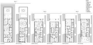 Brooklyn Brownstone Floor Plans by 253 Pacific Street James Cleary Architecture