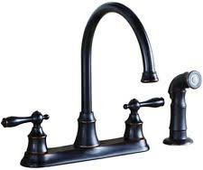 brushed bronze kitchen faucets rubbed bronze kitchen faucet ebay