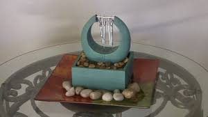 zen chime cordless tabletop fountain youtube