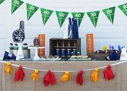 football party decorations football themed party supplies ideas shindigz