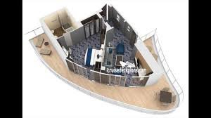 harmony of the seas staterooms and suites and deck plans youtube