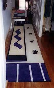Contemporary Rugs Runners 101 Best Art Inspired Rugs Images On Pinterest Custom Rugs