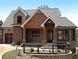 narrow lot lake house plans plan 92305mx mountain home with vaulted ceilings craftsman