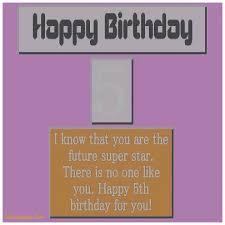 birthday cards fresh 5th birthday card sayings 5th birthday card
