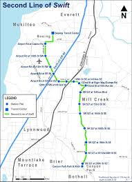 Seattle Light Rail Map Future by Community Transit Sends Transit Expansion Measure To Snohomish