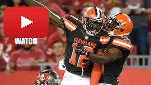 Cleveland Browns Flag Josh Gordon Preseason Full Highlights Cleveland Browns Hd