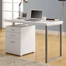 shop monarch specialties contemporary computer desk at lowes com
