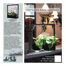 amazon com tucker u0027s pride tpg17 17w led mini garden for indoors