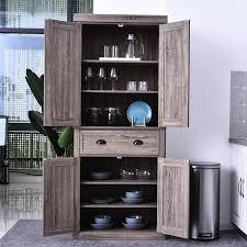 wayfair kitchen storage cabinets loon peak dizon 73 kitchen pantry reviews wayfair in