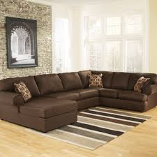 Living Room With Sectional Cowan 3 Piece Sectional U2013 Jennifer Furniture